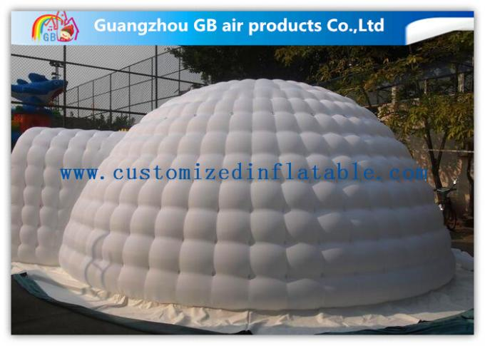 6m Diameter White Igloo Shelter Inflatable Event Tent for Outdoor Activities
