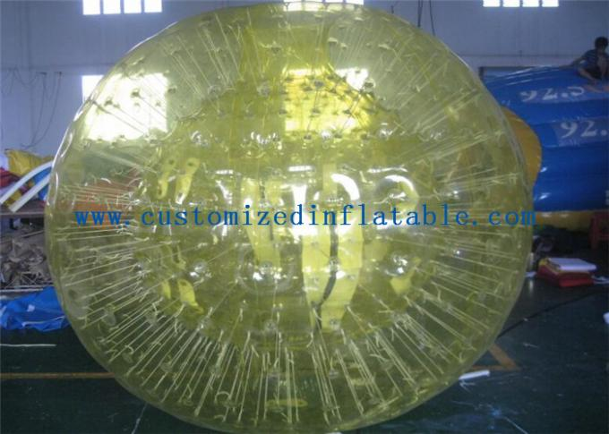 Customized Body Inflatable Bumper Ball Soccer Bubble For Playing Games