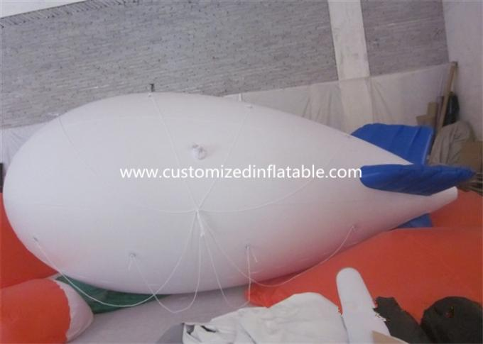 Commercial Inflatable Helium Balloons , Giant Helium Blimp With LED Light