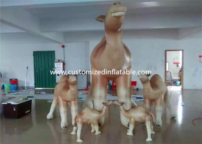 Customized Cartoon Shape Inflatable Camel Animal Model For Event Party 0