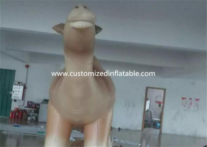 Customized Cartoon Shape Inflatable Camel Animal Model For Event Party 1