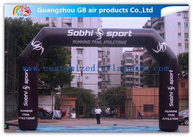 China Airtight Inflatable Start Finish Arch With Screen Printing / Heat Transfer Printing / Hand Printing supplier