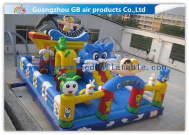 China Ocean Style Inflatable Playground Equipment Happy Game Toys For Children supplier