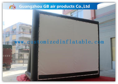 China Enjoy Outdoor Large Inflatable Movie Screen Film Screen For Party / Wedding supplier