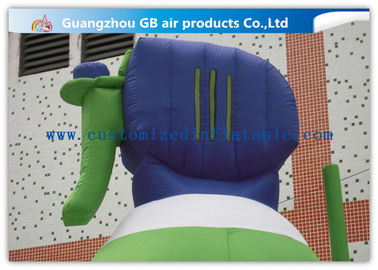 Promotion Bottle Inflatable Balloons For Advertising With Fire Proof PVC Tarpaulin supplier