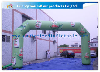 China Promotion Arch Square Custom Inflatable Arch With Printing , Strong Pvc Bag Packing supplier