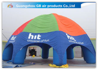 China Durable Inflatable Air Tent Inflatable Spider Dome Tent For Advertising Service supplier