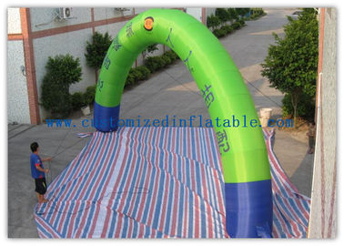 Promotion Semicircle Inflatable Start Finish Arch 9m Span Customized Size supplier