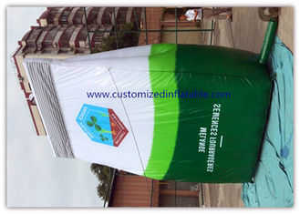 Big Inflatable Advertising Signs / Oxford Cloth Snake Leather Bag supplier