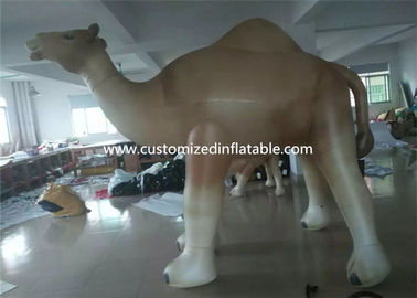 Customized Cartoon Shape Inflatable Camel Animal Model For Event Party supplier