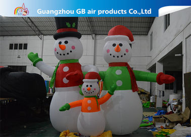 China Giant Inflatable Snowman Blow up Christmas Santa Claus Yard Decoratoin supplier