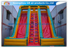 Good Quality Inflatable Advertising Signs & Childrens Industrial Inflatable Water Slides / Inflatable Double Water Slide Fast Delivery on sale