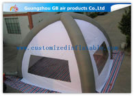 China White 8m Classic Inflatable Air Tent Spider Dome Inflatable Tent With Air Columns for Events factory