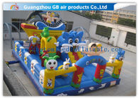 China Ocean Style Inflatable Playground Equipment Happy Game Toys For Children factory