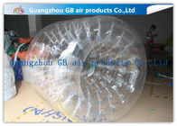 China PVC Transparent Inflatable Rolling Ball , Funny Huge Inflatable Walk On Water Ball factory