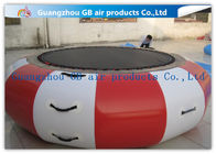 China Interesting Round Inflatable Water Game , Inflatable Trampoline For Water Jumping factory
