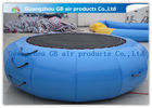 China Exciting Inflatable Water Game / Rave Sports Water Trampoline Blue Color factory