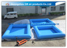 China 0.9mm Pvc Tarpaulin Small Inflatable Pool Portable Swimming Pool For Kids factory
