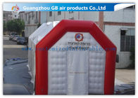 China Inflatable Emergency Shelters Airtight Tunnel Tent Equipment Air Inflatable Tent factory