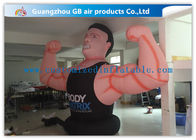 China Air Man Inflatable Muscle Man Model Advertising Strong For Party , Club factory
