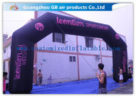 China Durable Black Inflatable Arch , 26 Feet Inflatable Entrance Arch For Advertising factory