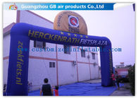 China Commercial Digital Printing Custom Inflatable Arch For Amusement Park factory