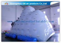 China Berg Inflatable Water Game White Inflatable Air Climbing Playing On Water factory