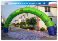 China Promotion Semicircle Inflatable Start Finish Arch 9m Span Customized Size factory