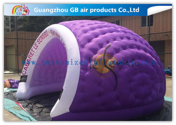 Purple 5.5 X 4.5 X 3m Inflatable Air Tent Large Dome Tent for Business Event & Purple 5.5 X 4.5 X 3m Inflatable Air Tent Large Dome Tent for ...