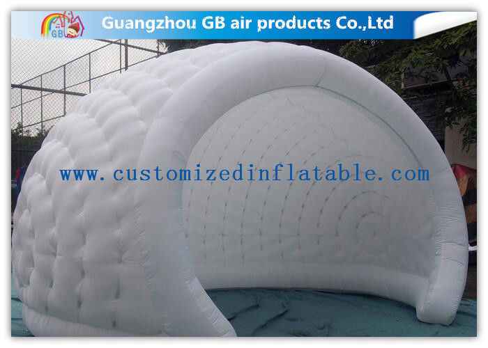 Mini Size White Inflatable Tent C&ing Trip Inflatable Igloo Pop Up Dome Tent & Mini Size White Inflatable Tent Camping Trip Inflatable Igloo Pop ...