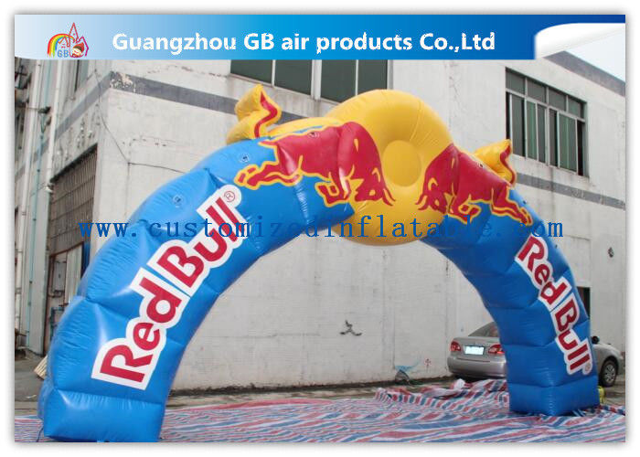 Customized Christmas Inflatable Archway Entrance Arch for Outdoor Activity supplier