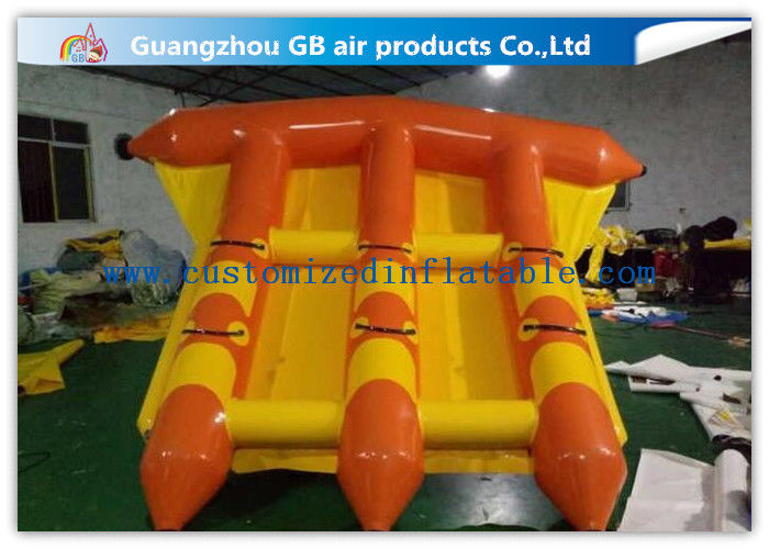 Pvc Water Sports Toy Towable Inflatable Flyfish Boa Air Inflatable Flying Fish supplier