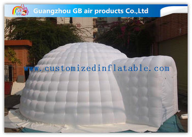 China 6m Diameter White Igloo Shelter Inflatable Event Tent for Outdoor Activities factory