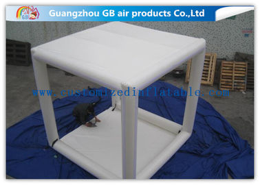 China Sealed  Inflatable Air Tent Outdoor Oxford Marquees White Square Inflatable Camping Tent factory