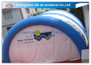 China Waterproof Inflatable Air Tent Hot Welding Custom 10 X 10 Tent for Exhibition factory