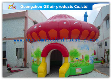 China Colorful Mushroom Play Tent Inflatable Air Tent for Trade Show Exhibition factory