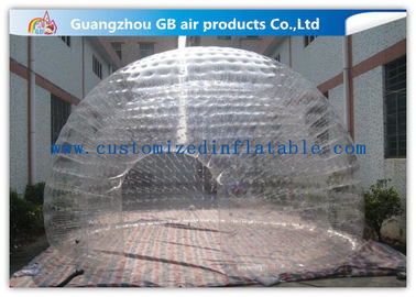 China Light Weight Transparent Inflatable Wedding Tent Clear Plastic Dome Tent factory