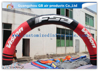 Colorful Half Round Inflatable Sport Arch With High Tensile Strength