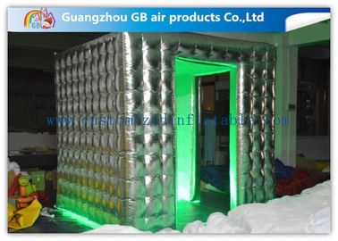 China Colorful Fashional Photo Booth Led Lights Inflatable Oxford Cloth Waterproof factory