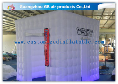 China Party / Wedding Inflatable Booth Tent 16 Led Light Colors With Remote Controller factory