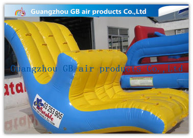Floating Inflatable Water Game Water Seesaw Toys Moving Up And Down In Lake / Ocean