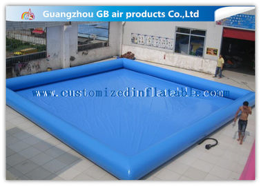 Summer Party Inflatable Family Swimming Pool , Large Portable Swimming Pool For Rent