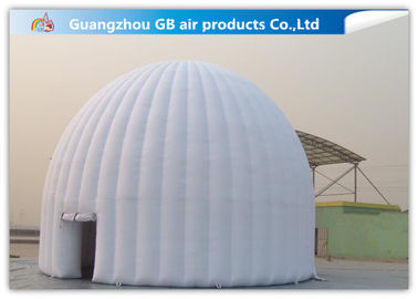 China Outdoor Inflatable Event Tent White Inflatable Dome Igloo Tent For Activity factory