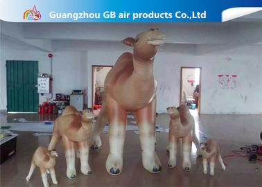 Customized Cartoon Shape Inflatable Camel Animal Model For Event Party