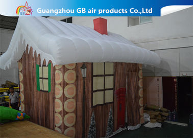 Inflatable Christmas Decoration House Inflatable Tent House / Snow House