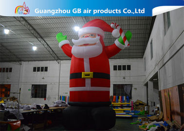 Hot Selling Outdoor Giant Inflatable Santa Claus  Christmas Yard Decorations